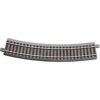 61122 H0 Roco GeoLine (incl. Rail bed) curve 30 ° 358 mm