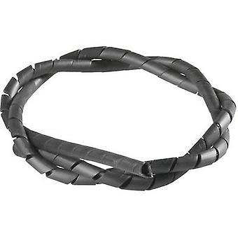 PB bevestiger SB 12 E SW spiraalbinding kabel bescherming zwart