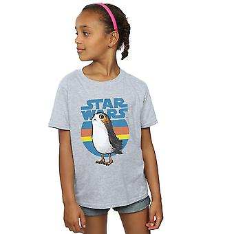 Star Wars tjejer de sista Jedi Porg T-Shirt