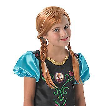 Anna congelée TIG wig original pour enfants Anna et ELSA