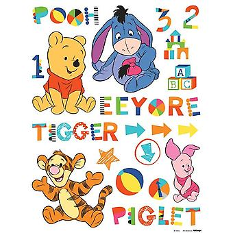 Adhesive decoration Baby Pooh Disney 65x85cm