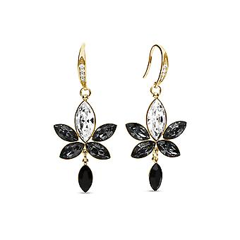 Earrings Lotus Gold