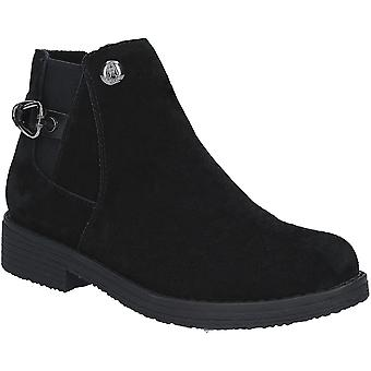 Hush Puppies Womens Alaska Chelsea Durable Suede Ankle Boots