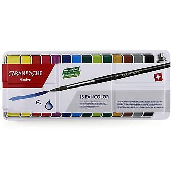 Caran D'Ache Fancolor Gouache Paint 15 Set