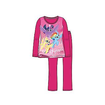 My Little Pony Pyjama Donkerroze Maat 92