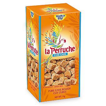 La Perruche Brown Cubes Rough Cut