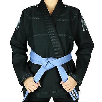 Fumetsu senhoras Prime Jiu-Jitsu Gi preto