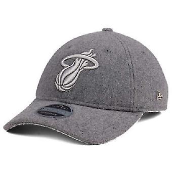 Miami Heat NBA nieuw tijdperk 9Twenty kasjmier verstelbare hoed