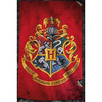 ملصق شعار هوجوورتس هاري بوتر