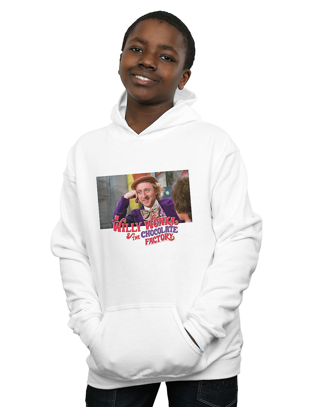 Willy Wonka And The Chocolate Factory Boys Condescending Wonka Hoodie