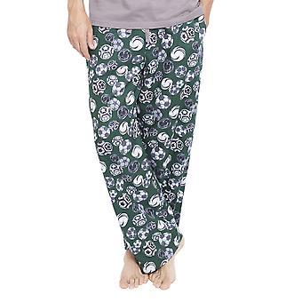 Cyberjammies 6338 miesten Alfie harmaa jalkapallo tulosta Pyjama-kuorihousut