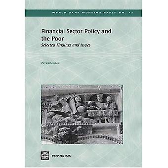 Beleid van de financiële Sector en de armen: geselecteerd bevindingen en kwesties (Wereldbank Working Paper No. 43)