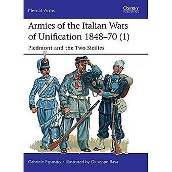Arméer av italienska krigen för enande 1848-70 (1): Piemonte och Bägge Sicilierna (rustningsförsedda)