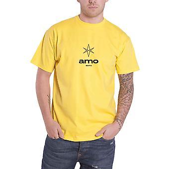 """جلب """"لي في الأفق ر قميص السداسية الأموية الفرقة الشعار"""" الجديد الرسمية رجالي الأصفر"""