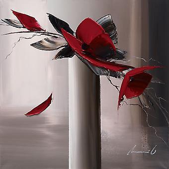 أون الحمر جريس Et أنا طباعة ملصق من أوليفر تراموني