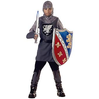 Valiant Knight Renaissance Medieval Warrior Dress Up Boys Costume