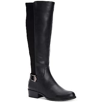 Alfani dame Kallumm lukket tå Mid Læggen mode støvler