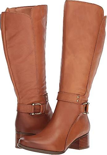 Naturalizer Womens Dane Leather Almond Toe Knee High Fashion Boots kQJw3