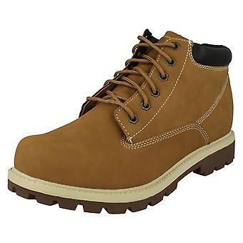 Stivali alla caviglia con lacci uomo Skechers Amado