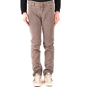 Jacob Cohen Ezbc054340 Männer's Beige Denim Jeans