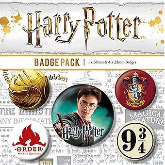 Harry Potter Button Badge Set GD