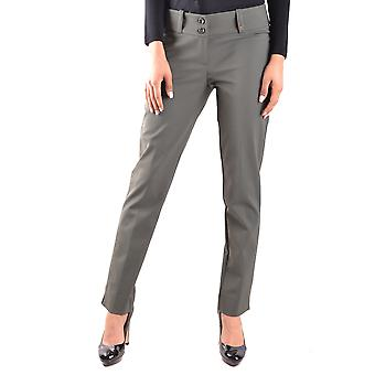 Try Me Ezbc213004 Women's Green Cotton Pants