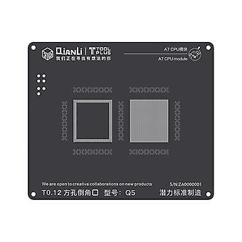 QianLi 3D BGA Stencil A7 CPU Modul-iPh 5S | iParts4u