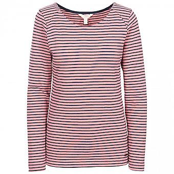 Trespass Womens Moomba Striped Long Sleeve T Shirt