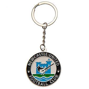 Newcastle United FC Retro Keyring