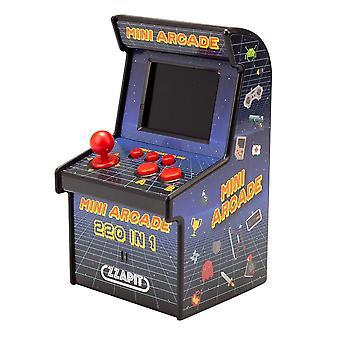 Retro 16-bittinen kannettava Mini arcade-yksikkö (sisältää 220 sisäänrakennettua peliä)