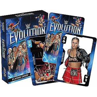 WWE Evolution Divas ensemble de 52 cartes à jouer - jokers (nm)
