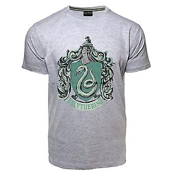 Licensed unisex printed harry potter™ slytherin™ t shirt sports grey
