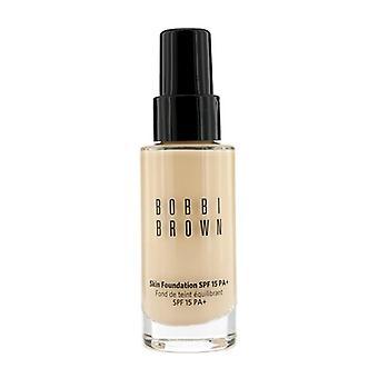 Bobbi Brown Skin Foundation SPF 15-# 1 varm elfenben-30ml/1oz