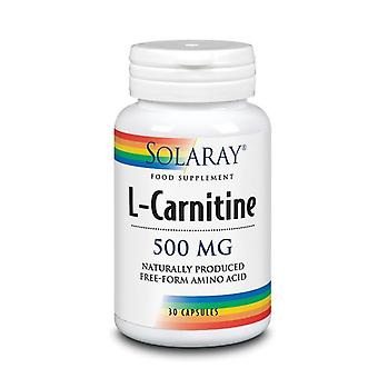 Solaray Free Form L-Carnitine 500mg Capsules 30 (84838)