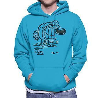 Grimmy Doctor sweatshirt til mænd med hætte
