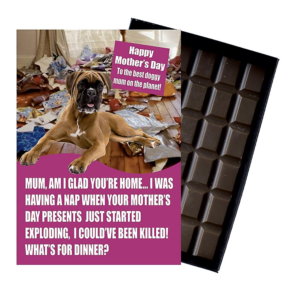 Boxer Dog Owner Dog Lover Mother?s Day Gift Chocolate Present For Mum