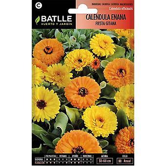 Batlle Dwarf Marigold Gypsy Party (Garden , Gardening , Seeds)