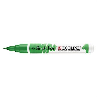 Talens Ecoline Liquid Watercolour Brush Pen - 656 Forest Green