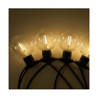 23M Led Festoon String Lights 20 Żarówki Zestawy G80