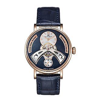 Carl von Zeyten Men's Watch Wristwatch Automatic Baden-Baden CVZ0042RBL