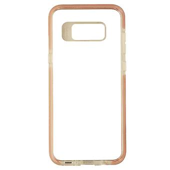 Gear4 D30 Piccadilly Hybrid Hard Case cover voor Samsung Galaxy S8 +-Clear/roze