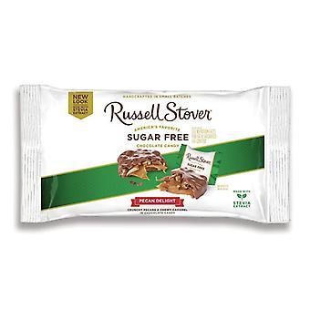 Russell Stover Шоколад сахар бесплатно пекан изыски 10 oz мешок