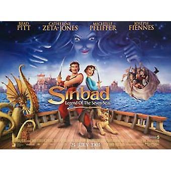 Sinbad Legend of the Seas (kaksipuolinen) alkuperäinen elokuva juliste