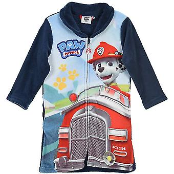 Boys RH2149 Paw Patrol Coral Fleece Dressing Gown