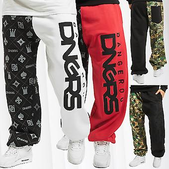 Men's Sweat Pants DNGRS Jogging Trousers Sport Fitness Urban Jogger Crown & King