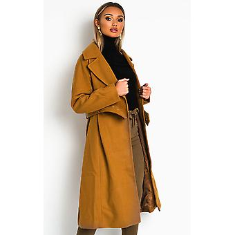 IKRUSH Femme Annie Belted Manteau