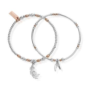 Chlobo Rose And Silver Strength And Courage Set Of 2 MBSET596584