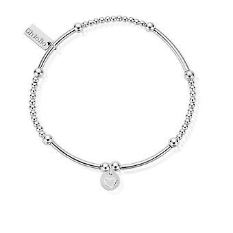 Chlobo Cute Mini Heart In Circle Bracelet SBCM009