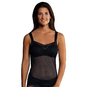 Rosa Faia 0630 vrouwen ' s Emily gespot spaghetti vest top