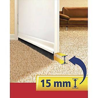 Tesamoll® For tekstil dør-til-gulv børste gennemsigtig